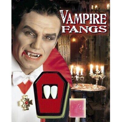 VAMPIRZÄHNE Dracula Eckzähne Halloween Werwolf Zähne Halloween Kostüm - Vampir Requisiten