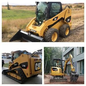 Skid Steer & Excavator RENTALS ! Weekly deals