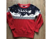 Next boys Christmas Jumper - age 5 years