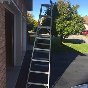 8 foot aluminum ladder