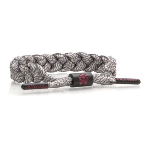 RASTACLAT Asphalt Classic Elephant Grey Wristband Bracelet Shoelace Jewelry NEW
