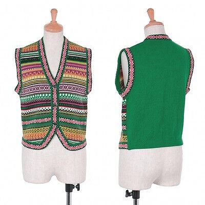 KENZO Knit Vest Size M(K-43960)