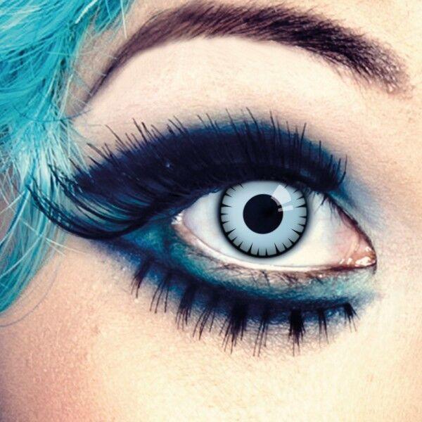 aricona Farblinsen blaue Kontaktlinsen farbig ohne Stärke hellblaue Jahreslinsen