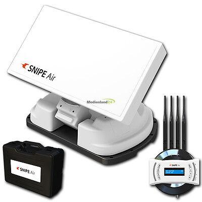 Selfsat Snipe Air GPS vollautomatische WiFi Streaming Sat Antenne bis zu 8 Teiln