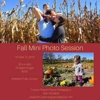 Fall Mini Photo Session
