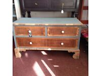 Cute shabby chic chest of drawers