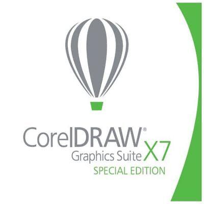 Corel DRAW Graphics Suite X7 Special Edition OEM - DVD-Box - DEUTSCHE Version Standard Dvd-box