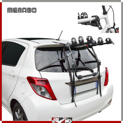 Portabicicletas Trasero Coche 3 Bicicleta Para Leon St Rails Escl. Techo Glass
