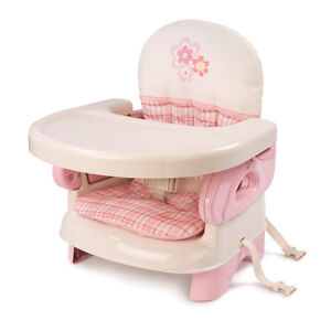 NEW Summer Infant Deluxe Booster Seat  PINK 2DaysShip