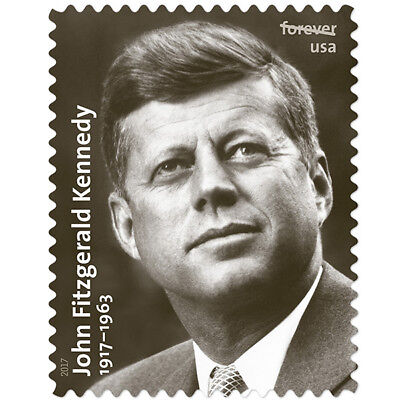USPS New John F Kennedy Pane of 12
