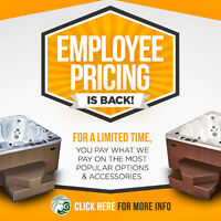 Beachcomber Hot Tubs Employee Pricing - Guelph