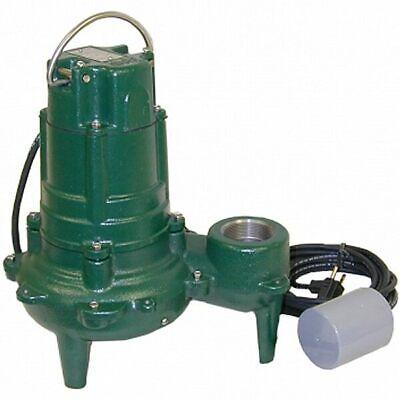 Zoeller Bn270 1-hp Cast Iron Sewage Pump W Variable Piggy Back Float Switch ...