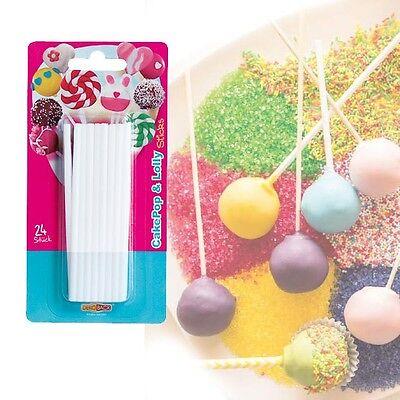 für Cake Pops und Lutscher, Kunststoff, wiederverwendbar (Lolly Pops)
