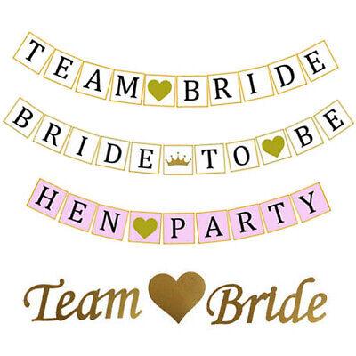 am Bride To Be Junggesellinnenabschied Banner Girlande (Abschied-banner)