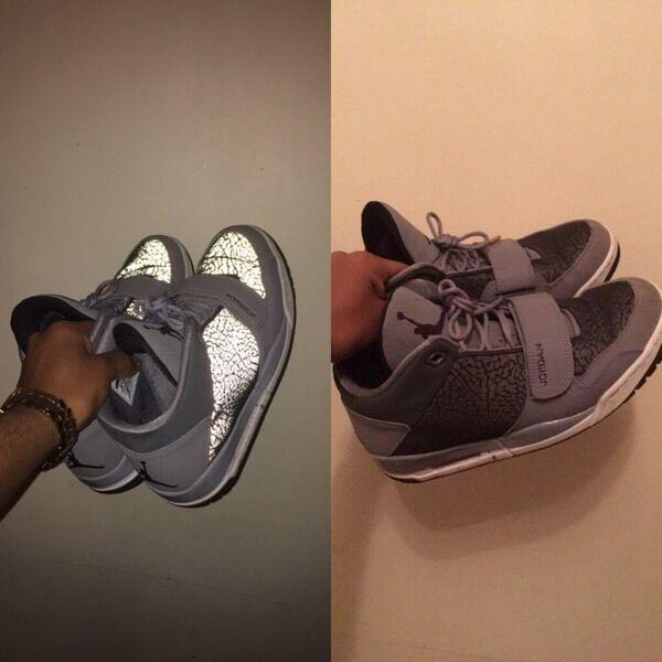 Nike Air Jordan Flight Club 90 s Reflective Size 8  ecd45c0f8