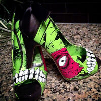 ** High Heel Zombie Shoes (Size 7) - Brand NEW **