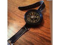 German Luftwaffe World World War 2 (1939-45) fighter pilot's wrist compass
