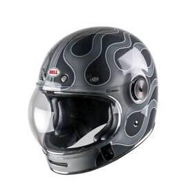 Bell Bullitt retro Cafe Racer Helmet