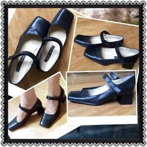 """✨Nine West cute black leather """"Mary Janes"""""""