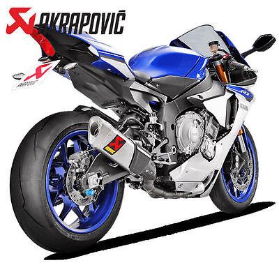 Akrapovic Yamaha Yzf R1 2015 Titanium Evolution Line Kit Full Exhaust System