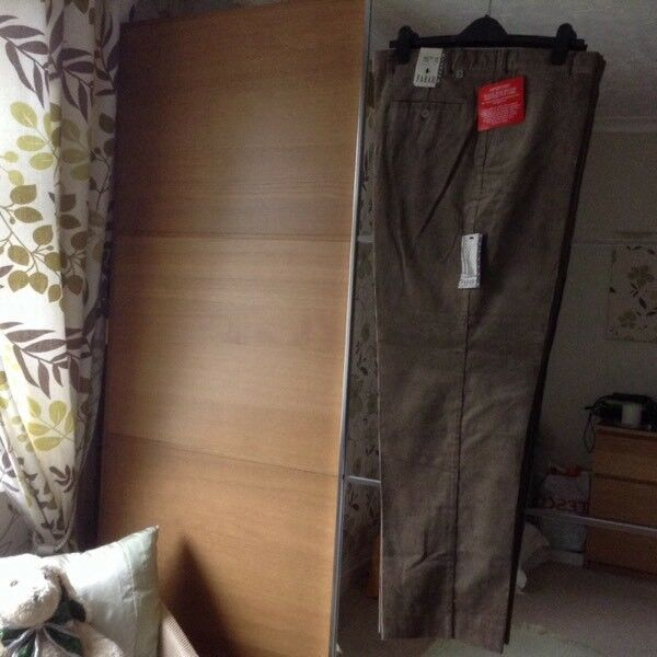 Mens Farah trousers