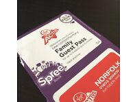 SPREE Virgin Active Family Guest Pass