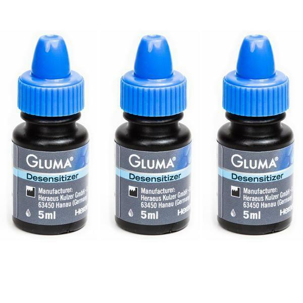Kulzer 66018221 Gluma Dental Desensitizer Liquid Clinic Pack 5 mL 3/Pk