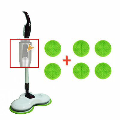 NEW Honors 889H Dual Spinning Wet Mop Cleaner Wired Twin Mop Floor Cleaner 220V