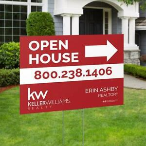 $5 OFF Real Estate Sign with Post at www.pixoperfect.com - BEST PRICE IN TOWN!