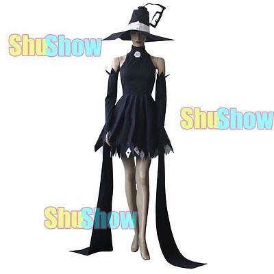 Anime Soul Eater Blair Cosplay Dress halloween Costume Hat Women Cos Clothes (Soul Eater Soul Halloween)