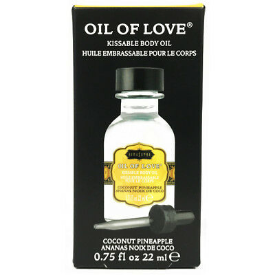 Kama Sutra Oil Of Love Kissable Body Oil .75oz - Coconut Pineapple