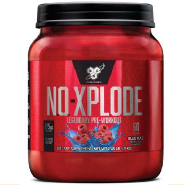 Bsn N.O. Xplode Nitric Oxide Booster + Pre Workout Powder, B
