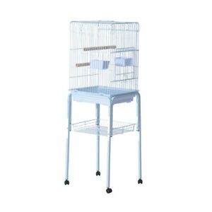"""Large 51"""" Bird Parrot Cage / Finch Cockatoo Play Top Pet Feeding"""