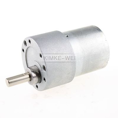 24v Dc 1000rpm High Torque Gear Box Electric Motor New
