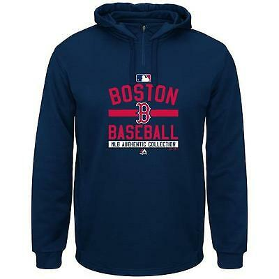 Nwt Boston Red Sox Mens Authentic Collection Team Property Therma Base Hoodie Xl