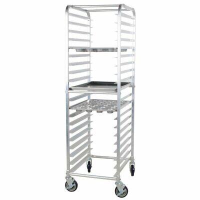 20 Pan Aluminum End Load Restaurant Bakery Bun Sheet Pan Speed Rack Resto