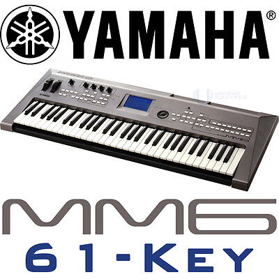Yamaha MM6 MM 6 61 Key Music Keyboard Synthesizer on Rummage