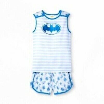 Girls Super Hero Pajamas Set Bat Girl ~ Large ~ Medium ~ Extra Small (Girls Pj Set)