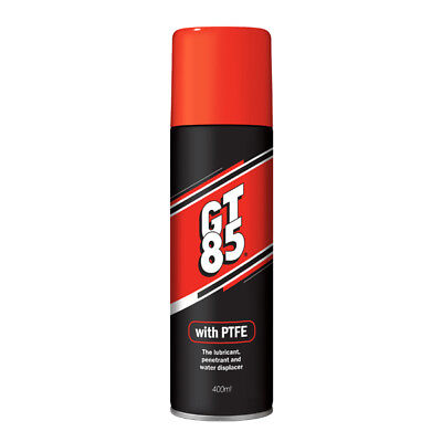 GT85 PTFE Aerosol Spray Can Chain Lubricant Water Displace 400ML Extra