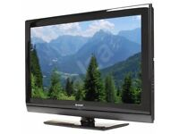 "Sharp 32"" inch LCD HD TV with Freeview Built in, 3 x HDMI + USB Port not 37 40 May Deliver Locally"