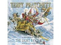 Terry Patchett - The Light Fantastic - Audio Book - 3 disc CD