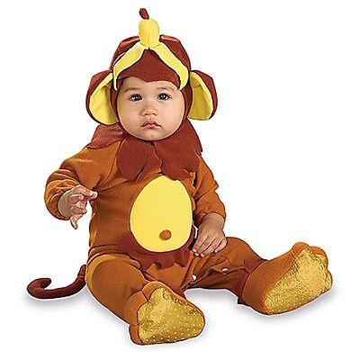 Rubies EZ-On Rompers Monkey See, Monkey Do Newborn - Monkey See Monkey Do Costume