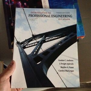 Introduction to Professional Engineering in Canada