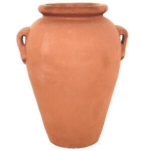 100cm terracino olive jar planter tub garden plant pot vase terracotta ebay. Black Bedroom Furniture Sets. Home Design Ideas