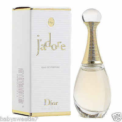 DIOR J'adore EAU DE Parfum Perfume 5ml NIB Miniature Sample Size EDP