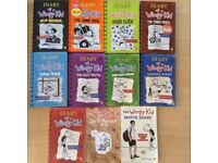 Eleven diary of a wimpy kid books