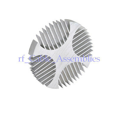 3x Led Radiator Aluminum Heatsink Round For Led Lightingsamplifierindustrial