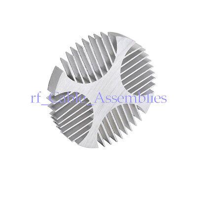 3x Led Radiator Aluminum Heatsink Round For Led Lightingsamplifierindustrial