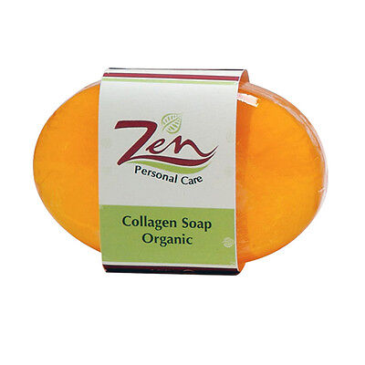 COLLAGEN SOAP ORGANIC 100gm Pack 2 Placenta Elastin Delays effects of ageing