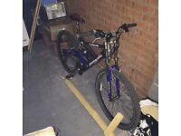 Mountain suspension bike